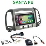Pack autoradio Android GPS Hyundai Santa Fe de 2006 à 2012 (avec 3 boutons) - WIFI Bluetooth écran tactile HD