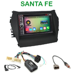 Pack autoradio Android GPS Hyundai Santa Fe depuis 2012 - WIFI Bluetooth écran tactile HD