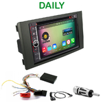 Pack autoradio Android GPS Iveco Daily de 2009 à 2013 - WIFI Bluetooth écran tactile HD