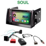 Pack autoradio Android GPS Kia Soul de 11/2008 à 2010 - WIFI Bluetooth écran tactile HD