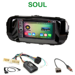 Pack autoradio Android GPS Kia Soul depuis 2014 - WIFI Bluetooth écran tactile HD
