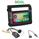 Pack autoradio Android GPS Kia Soul de 2012 à 2014 - WIFI Bluetooth écran tactile HD