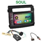Pack autoradio Android GPS Kia Soul de 2012 à 2014 - WIFI Bluetooth écran tactile HD