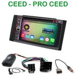 Pack autoradio Android GPS Kia Ceed de 2006 à 2009 - WIFI Bluetooth écran tactile HD