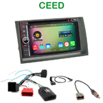Pack autoradio Android GPS Kia Ceed de 2009 à 04/2012 - WIFI Bluetooth écran tactile HD