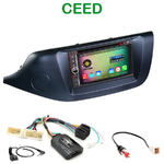 Pack autoradio Android GPS Kia Ceed depuis 04/2012 - WIFI Bluetooth écran tactile HD