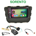 Pack autoradio Android GPS Kia Sorento depuis 2012 - WIFI Bluetooth écran tactile HD