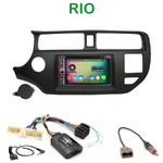 Pack autoradio Android GPS Kia Rio de 09/2011 à 2014 - WIFI Bluetooth écran tactile HD