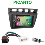 Pack autoradio Android GPS Kia Picanto de 2004 à 2007 - WIFI Bluetooth écran tactile HD
