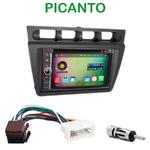 Pack autoradio Android GPS Kia Picanto de 2004 à 2007 - WIFI Bluetooth écran tactile HD