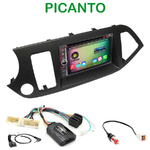 Pack autoradio Android GPS Kia Picanto depuis 05/2011 - WIFI Bluetooth écran tactile HD