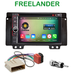 Pack autoradio Android GPS Land Rover Freelander de 2004 à 2006 - WIFI Bluetooth écran tactile HD