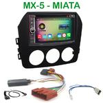 Pack autoradio Android GPS Mazda Miata et MX-5 - WIFI Bluetooth écran tactile HD
