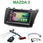 Pack autoradio Android GPS Mazda 3 de 2010 à 2014 - WIFI Bluetooth écran tactile HD