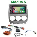 Pack autoradio Android GPS Mazda 5 de 05/2005 à 03/2008 - WIFI Bluetooth écran tactile HD