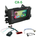 Pack autoradio Android GPS Mazda CX-5 depuis 2012 - WIFI Bluetooth écran tactile HD