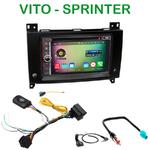 Pack autoradio Android GPS Mercedes Sprinter et Vito depuis 2015 - WIFI Bluetooth écran tactile HD