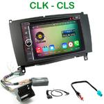 Pack autoradio Android GPS Mercedes CLK W209 de 2006 à 2010 - WIFI Bluetooth écran tactile HD