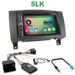 Pack autoradio Android GPS Mercedes SLK de 2004 à 2011 - WIFI Bluetooth écran tactile HD