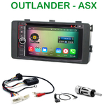 Pack autoradio Android GPS ASX et Outlander depuis 2013 - WIFI Bluetooth écran tactile HD
