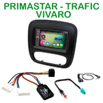 Pack autoradio Android GPS Opel Vivaro et Renault Trafic depuis 2014 - WIFI Bluetooth écran tactile HD