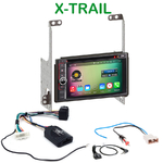 Pack autoradio Android GPS Nissan X-Trail depuis 2007 - WIFI Bluetooth écran tactile HD