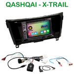 Pack autoradio Android GPS Nissan Qashqai et X-Trail depuis 2014 - WIFI Bluetooth écran tactile HD
