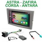 Pack autoradio Android GPS Opel Opel Astra, Corsa, Zafira et Antara - WIFI Bluetooth écran tactile HD