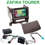 Pack autoradio Android GPS Opel Zafira Tourer depuis 2012 - WIFI Bluetooth écran tactile HD
