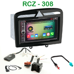 Pack autoradio Android GPS Peugeot 308 et RCZ - WIFI Bluetooth écran tactile HD