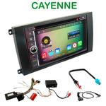 Pack autoradio Android GPS Porsche Cayenne de 2003 à 2010 - WIFI Bluetooth écran tactile HD