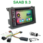 Pack autoradio Android GPS Saab 9.3 depuis 2006 - WIFI Bluetooth écran tactile HD