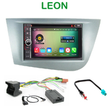 Pack autoradio Android GPS Seat Leon de 09/2005 à 2010 - WIFI Bluetooth écran tactile HD