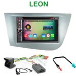 Pack autoradio Android GPS Seat Leon de 09/2005 à 2010 - WIFI Bluetooth écran tactile HD