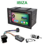 Pack autoradio Android GPS Seat Ibiza de 2003 à 2008 - WIFI Bluetooth écran tactile HD