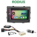 Pack autoradio Android GPS Ssangyong Rodius depuis 2013 - WIFI Bluetooth écran tactile HD