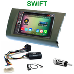 Pack autoradio Android GPS Suzuki Swift de 2005 à 2010 - WIFI Bluetooth écran tactile HD