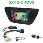 Pack autoradio Android GPS Suzuki SX4 S-Cross depuis 2013 - WIFI Bluetooth écran tactile HD