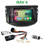 Pack autoradio Android GPS Toyota RAV4 de 2006 à 2012 - WIFI Bluetooth écran tactile HD