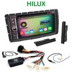 Pack autoradio Android GPS Toyota Hilux depuis 2012 - WIFI Bluetooth écran tactile HD