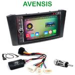 Pack autoradio Android GPS Toyota Avensis de 02/2003 à 2009 - WIFI Bluetooth écran tactile HD