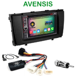 Pack autoradio Android GPS Toyota Avensis depuis 2009 - WIFI Bluetooth écran tactile HD