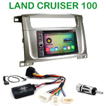 Pack autoradio Android GPS Toyota Land Cruiser 100 depuis 2007 - WIFI Bluetooth écran tactile HD