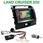 Autoradio GPS Android Toyota Land Cruiser 200 de 2007 à 2013