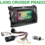 Pack autoradio Android GPS Toyota Land Cruiser prado depuis 2007 - WIFI Bluetooth écran tactile HD