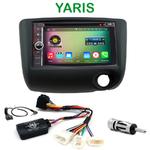 Pack autoradio Android GPS Toyota Yaris de 2003 à 2006 - WIFI Bluetooth écran tactile HD
