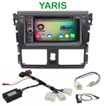 Pack autoradio Android GPS Toyota Yaris depuis 2013 - WIFI Bluetooth écran tactile HD