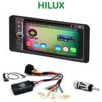 Pack autoradio Android GPS Toyota Hilux de 2007 à 2012 - WIFI Bluetooth écran tactile HD