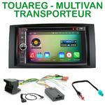Pack autoradio Android GPS Vokswagen Touareg et Transporteur Miultivan - WIFI Bluetooth écran tactile HD