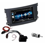 Autoradio 2-DIN Alpine Smart ForTwo de 09/2010 à 2015 - CDE-W296BT, IVE-W560BT, IVE-W585BT ou ILX-F903D AU CHOIX
